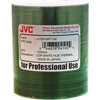 JVC Thermal Hub Printable CD-R Media Discs