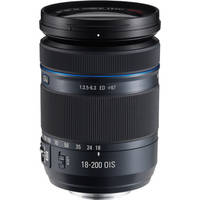Samsung 18-200mm f/3.5-6.3 ED OIS Lens (For NX Cameras)