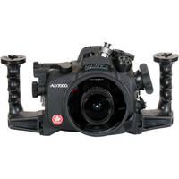 Aquatica AD7000 Underwater Housing for Nikon D7000 with Ikelite Manual Bulkhead
