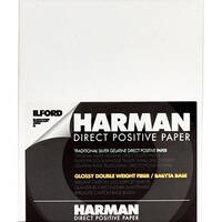 "Ilford Harman Direct Positive Fiber Based (FB) Paper (8 x 10"", Glossy , 25 Sheets)"