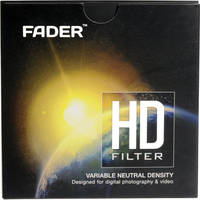 Fader Filters 62mm HD Variable Neutral Density Filter