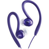 JVC HA-EBX5 In-Ear Sport Clip Headphones (Violet)