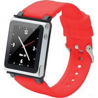 iwatchz Q Collection Watch Band for 6th Generation iPod nano (Red)