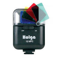 Holga 12MFC Electronic Flash With Built-In Color Filters