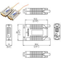 Apantac DVI-XX-SC - Single Link DVI-D Extender (Tx and Rx Without Fiber)