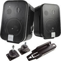"""JBL Control 2P 5.25"""" 2-Way Powered Speaker Conference Room Kit"""