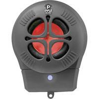 Pyle Pro Bass Expanding Chainable Rechargeable Mini-Speaker (Black)