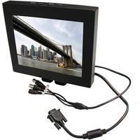 """EverFocus EN7508M 8"""" Mini Mobile Surveillance Monitor"""
