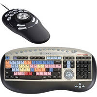 Bella Pro Keyboard for Avid Media Composer With Multimedia Controller