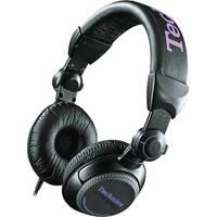 Technics RP-DJ1200B Professional DJ Headphones (Black)