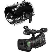 Equinox HD10 Underwater Housing with Canon XF 300 Professional Camcorder