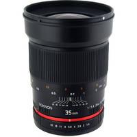 Rokinon 35mm f/1.4 AS UMC Lens for Sony A