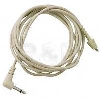 """Telex CMT-92 5' (1.5m) Headphone Cable (1/8"""" Mono L-Connector)"""