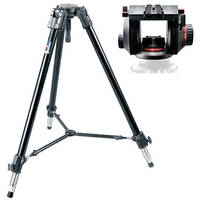Manfrotto 528XB Heavy-Duty Tripod with 509HD Professional Video Head Kit