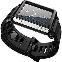 LUNATIK Wrist Strap Conversion Kit for iPod nano 6th Generation, 8/16GB (Black)