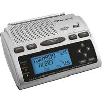Midland WR-300 S.A.M.E. Weather / All Hazards Alert Monitor With AM/FM Radio