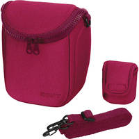Sony BBF Carry Case for NEX Cameras (Pink)