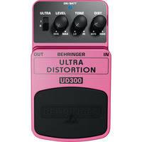 Behringer UD300 Ultra Distortion Effects Pedal
