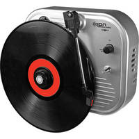 ION Audio Vertical Vinyl Wall-Mounted Turntable