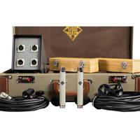 Telefunken ELA M 260 Small Diaphragm Tube Microphone Stereo Set