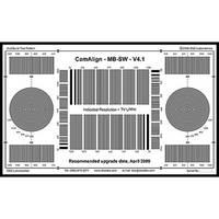 DSC Labs DX-1 MultiBurst Squarewave Test Chart (Black On White)