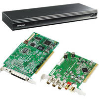 Grass Valley Edius SP (PCI-X) NLE Hardware/Software Solution with Breakout Box