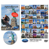 Savage DVD-ROM: Digital Backgrounds (Famous Landmarks)
