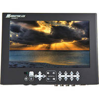 "Manhattan LCD 8.9"" HD Professional LCD Monitor with Canon Battery Plate"