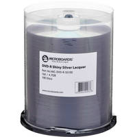 Microboards Shiny Silver DVD-R 16x (100 Pk)