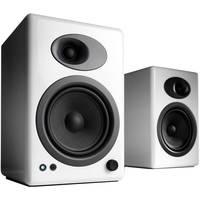 "Audioengine A5+ 5"" Active 2-Way Speakers (Pair, White)"