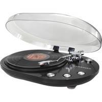 Crosley Radio CR6004A Oval Turntable (Black)