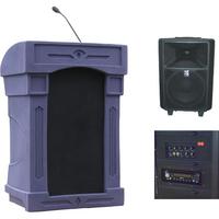 Summit Lecterns DaVinci Freedom Lectern (Purple Granite)