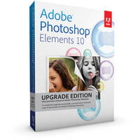 Adobe Photoshop Elements 10 for Mac & Windows (Upgrade from Any Previous Version)