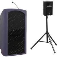 Summit Lecterns Presenter Lectern (Purple Granite)