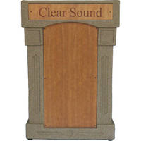 Summit Lecterns DaVinci Lectern (Beige Granite)