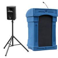 Summit Lecterns DaVinci Presenter Lectern (Blue Granite)