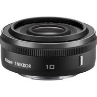 Nikon 1 Nikkor 10mm f/2.8 Lens (Black) for CX Format