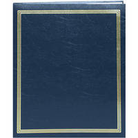 "Pioneer Photo Albums SJ-100 11.75x14"" Jumbo Post-Bound Scrapbook (Navy Blue)"