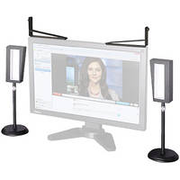 Videssence ViewMe Video Chat Lighting Kit with Stands and Z Brackets