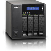 Qnap TS-419P II 4-Bay 512 MB All-In-One NAS Server For Home / SOHO