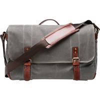 ONA Union Street Messenger Bag (Smoke)