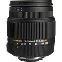 Sigma 18-200mm f/3.5-6.3 II DC OS HSM Lens for Nikon