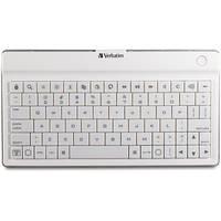 Verbatim Ultra-Slim Bluetooth Wireless Mobile Keyboard (White)