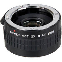 Bower 2x DGII Teleconverter (7 Elements) for Sony