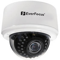 EverFocus 3-Axis Day/Night IR Indoor Dome Camera (2.8-10mm Lens, White)