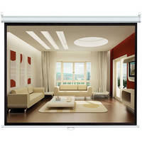 "Pyle Home PRJSL84 Manual Projection Self-Locking Screen (50 x 67"")"