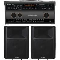Emerson Karaoke DV124 Professional CDG/MP3+G Karaoke System w/ Built-in Amplifier