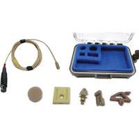 Voice Technologies VT401HS Professional Miniature Omnidirectional Lavalier Microphone (Beige)