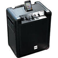 Gemini MS-POD Portable PA System with Integrated iPod Dock