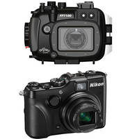 Fantasea Line FP7100 Housing with Nikon COOLPIX P7100 Digital Camera Kit